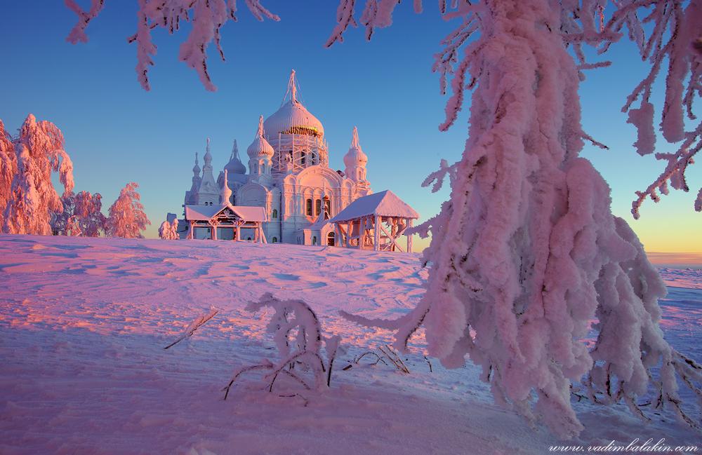 Зимняя сказка Белогорского монастыря