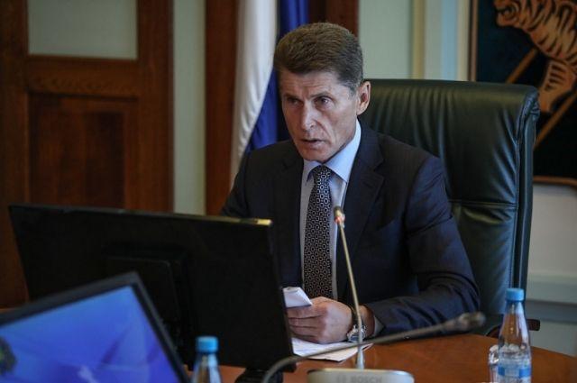 Кожемяко побеждает на выборах главы Приморского края