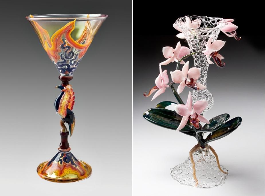 Невероятные шедевры из стекла