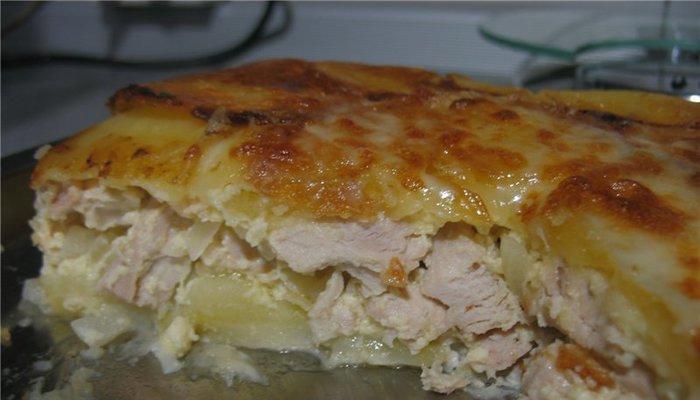 Куриное филе «Сюрприз», запечённое в фольге