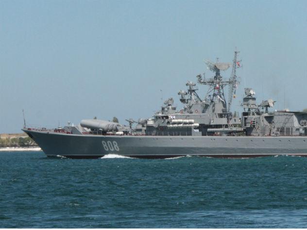 Украинские военные корабли в…