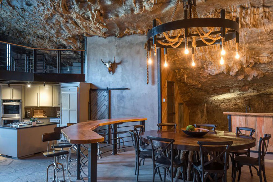 This Unbelievable Home Hidden Inside A Cave Looks Ordinary Only Until You Step Inside, And It's Now For Sale
