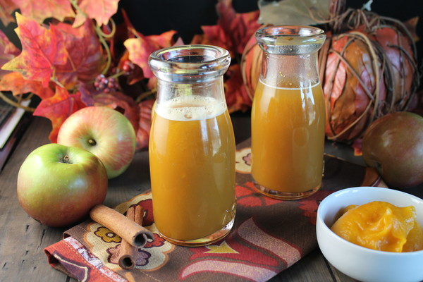 Рецепт вкусного тыквенного сока