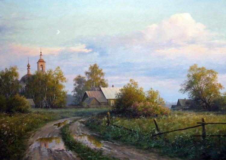 художник Николай Бусыгин картины – 01