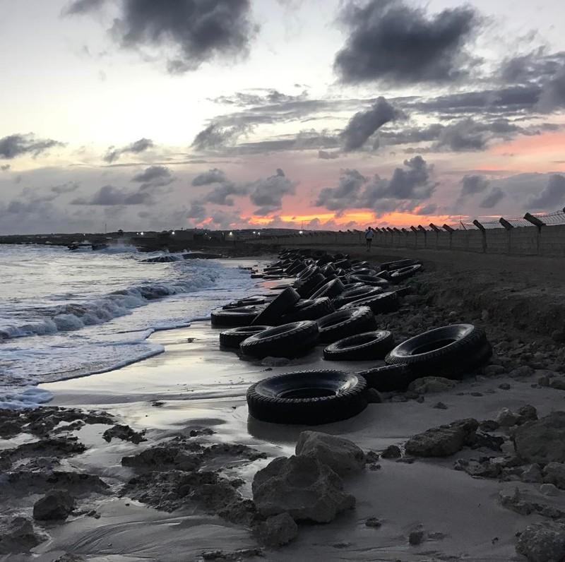 Закат на одном из пляжей Могадишо Могадишо, жители Сомали, сомали