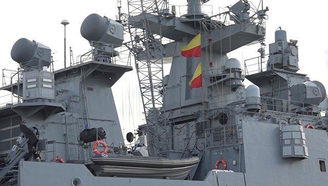 """""""Адмирал Григорович"""" до лета останется в Средиземном море, сообщил источник"""