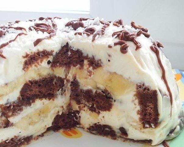 Удивительно простой, но безумно вкусный торт «Вдохновение»