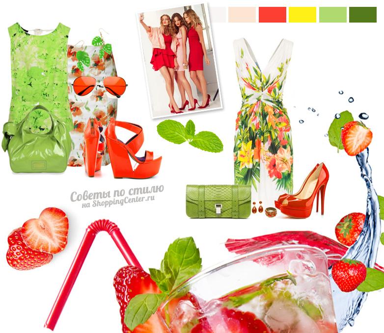 Модные цвета лета и тенденции