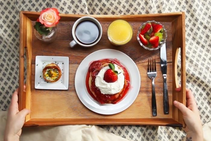 4 идеи завтраков для взрослых и детей