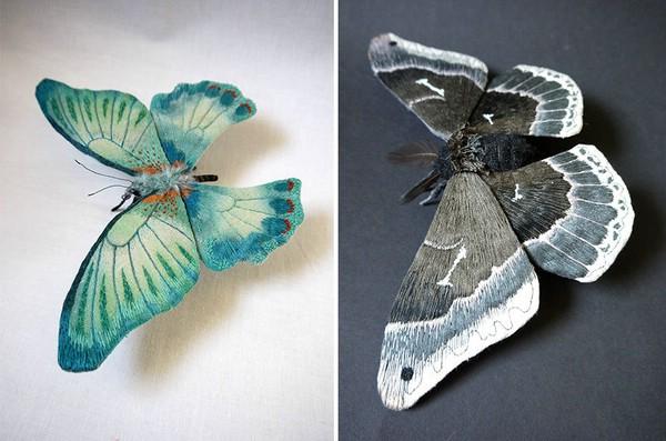 Удивительные текстильные насекомые от Юми Окита (Yumi Okita)