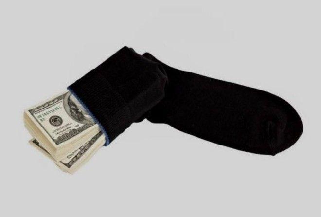 10 самых необычных мест, где люди прятали деньги