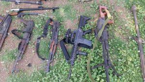 САА нашла тайный склад с оружием боевиков в Даръа