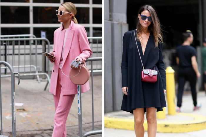 Как носить маленькую сумочку летом 2018: 5 стильных образов с модным аксессуаром