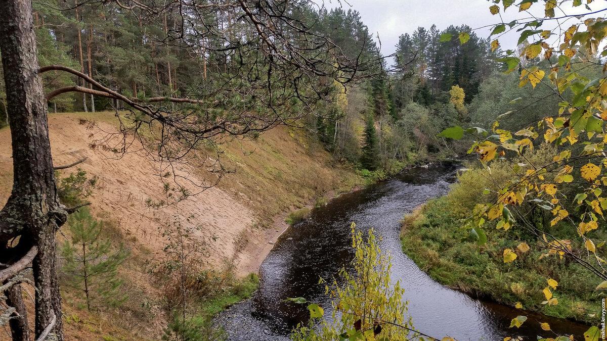 6. Легендарное место на реке Полометь.