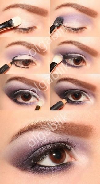 Как правильно нанести вечерний макияж в домашних условиях фото пошагово