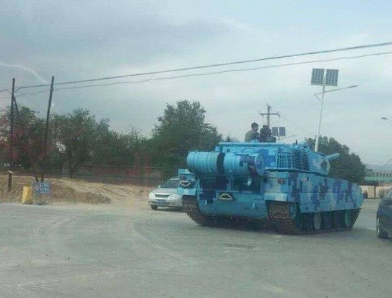 Китайский «горный танк» поступил на вооружение морпехов?