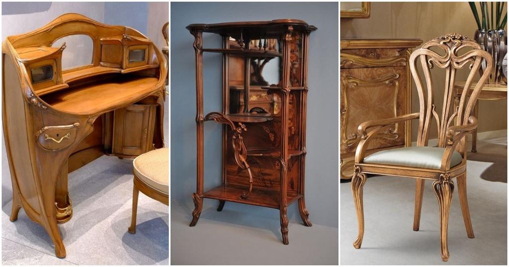 Интересная мебель Ар Нуво, которая актуальна и сегодня
