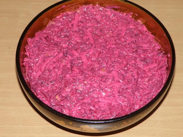 Салаты из свеклы без майонеза рецепты с простые и вкусные