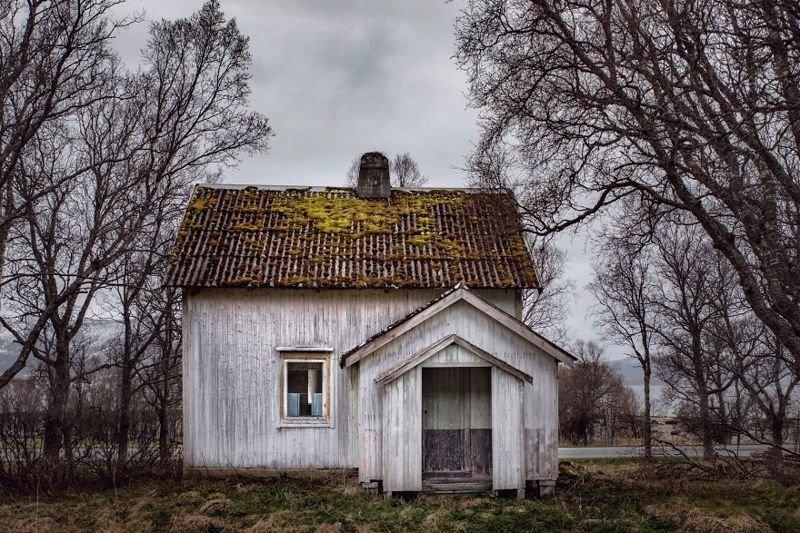 Заброшенные дома за полярным кругом депопуляция, дом, мир, норвегия, путешествие, страна, фото