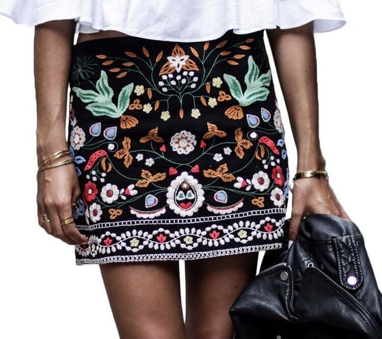 27 модных образов 2018 с юбками и Вы забудете о брюках!