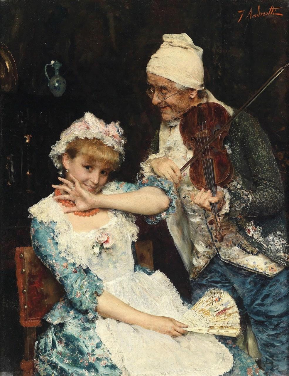 Федерико Андреотти (итальянский художник, 1847-1930)