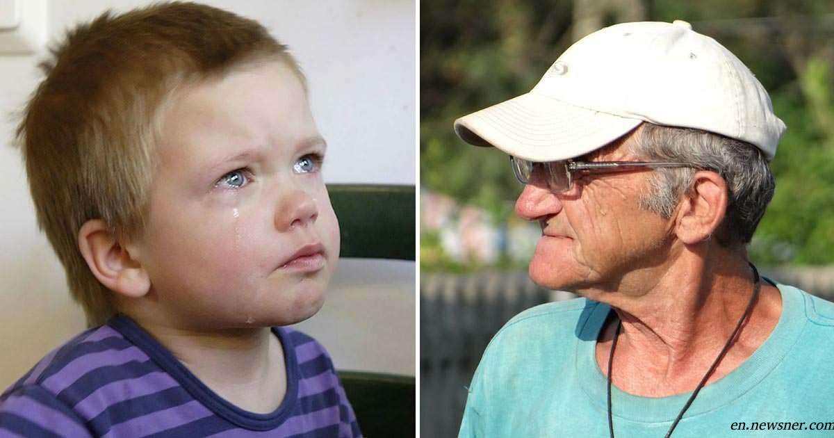 Капризный внук устроил истерику в магазине. Вот как отреагировал его дедушка!