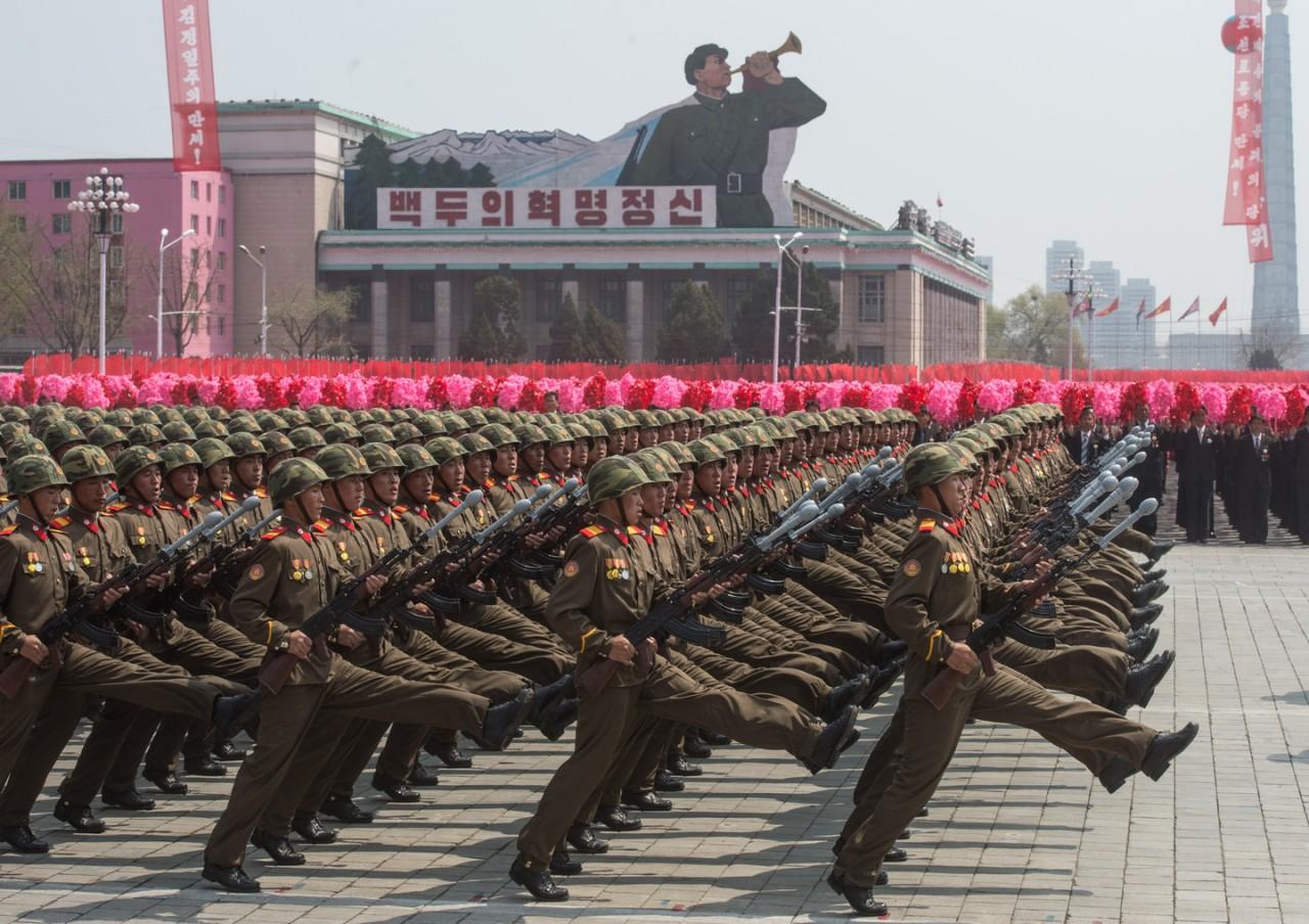 В КНДР 3,5 млн добровольцев записались на военную службу для борьбы с США