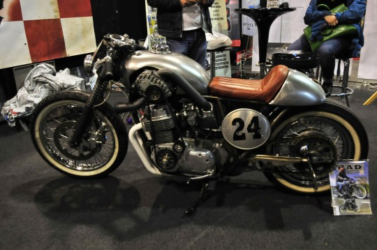 Motor Bike Expo 2015 - Cafe Racer