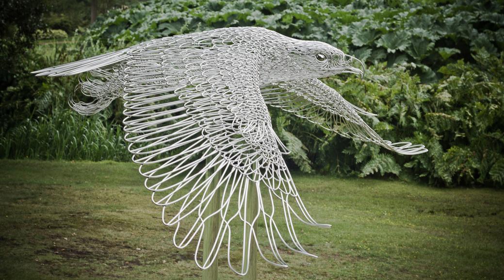 Удивительные проволочные скульптуры Мартина Дебенхэма