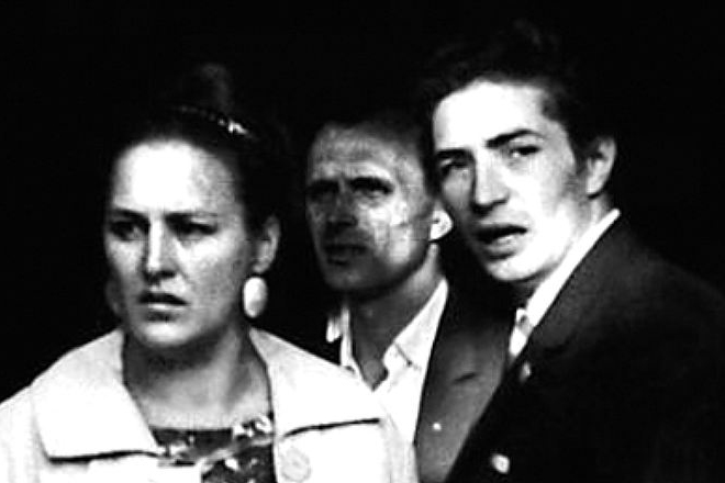 Нонна Мордюкова и Юрий Каморный