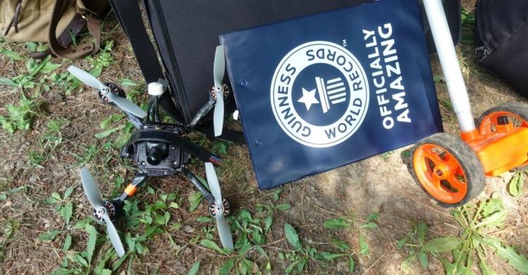 В Книгу рекордов Гиннесса попал самый быстрый в мире дрон
