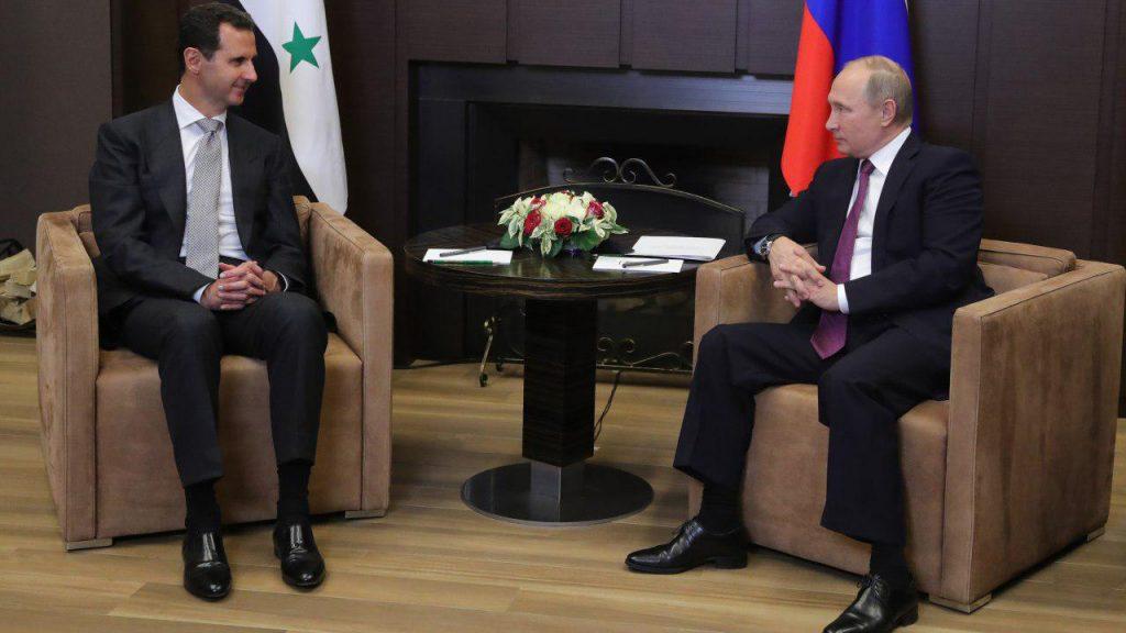 Востоковед раскрыл смысл картины, подаренной Путину Асадом