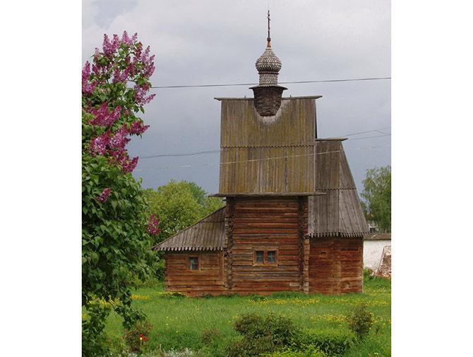 Пять церквей, созданных без единого гвоздя