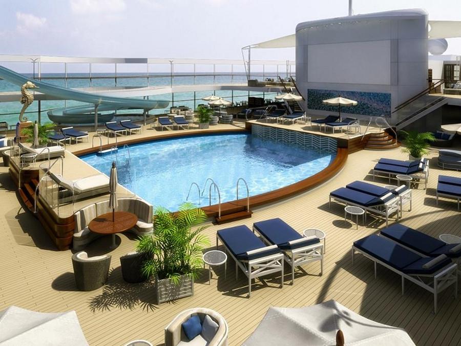 Самый роскошный способ путешествовать – купить квартиру на корабле «Утопия» 4