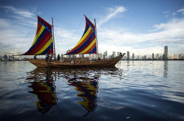 Филиппинская покорительница Эвереста собралась в Китай на копии древней лодки