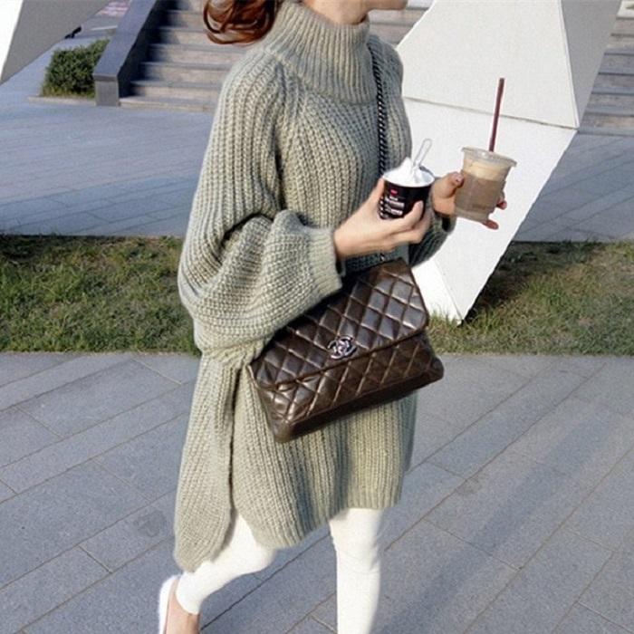 Слишком длинный свитер выглядит неаккуратно. / Фото: Alirich.ru
