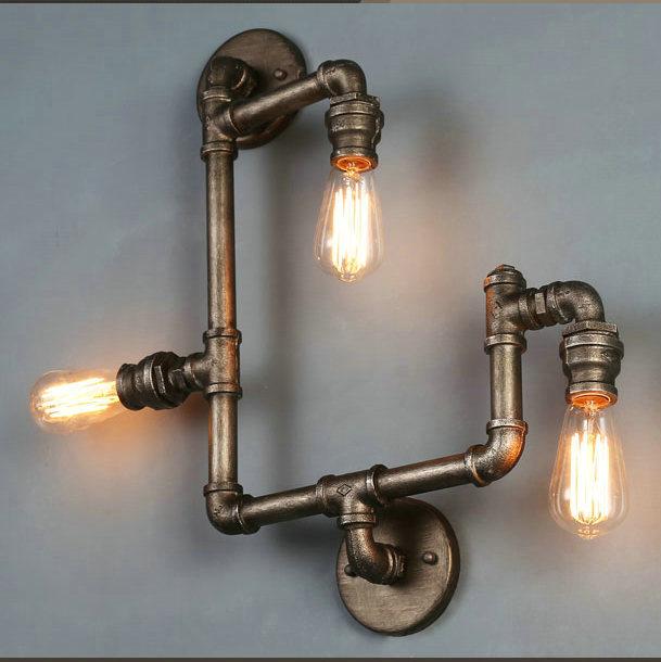 Промышленный дизайн светильников с лампами Edison