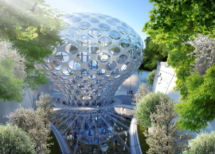 Аequorea — эко-город будущего