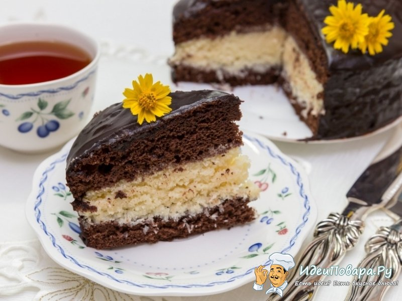 "Торт ""Баунти"" — рецепт"