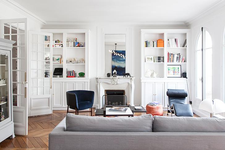 Очаровательная белая квартир…