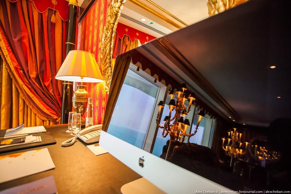 BurjAlArab39 Золото для шейхов и олигархов: самый дорогой номер в семизвездочном отеле Burj Al Arab