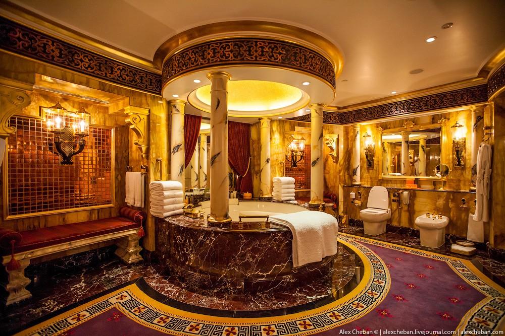 BurjAlArab36 Золото для шейхов и олигархов: самый дорогой номер в семизвездочном отеле Burj Al Arab