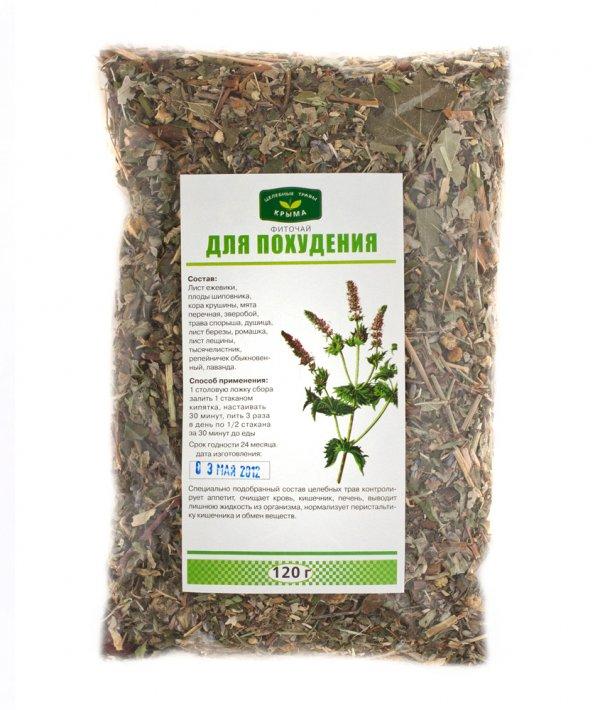 Травы и травяные сборы для похудения