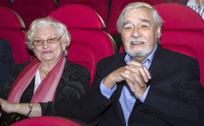 Ростислав Янковский и Нина Чеишвили. / Фото: www.minsknews.by