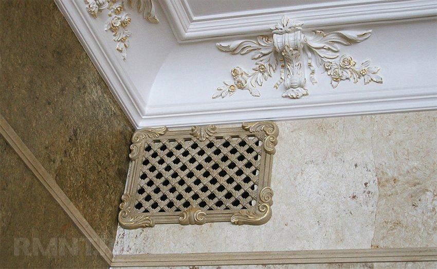 Вентиляционные решётки: декоративные и регулируемые