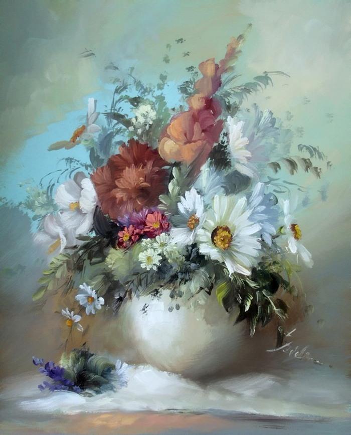 Szechenyi Szidonia. Цветы