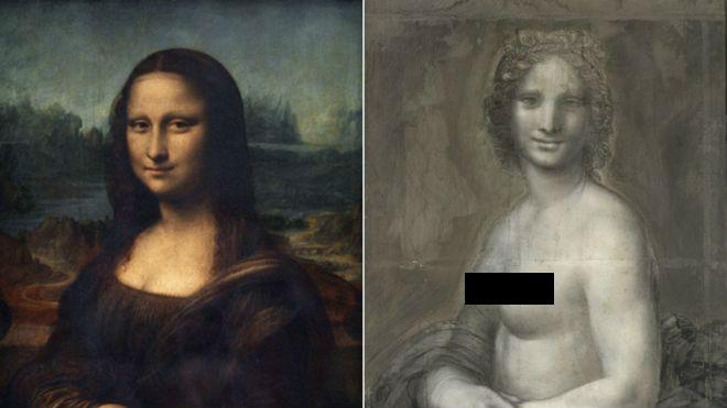 Мону Лизу раздели: во Франции обнаружили эскиз обнаженной Джоконды кисти да Винчи