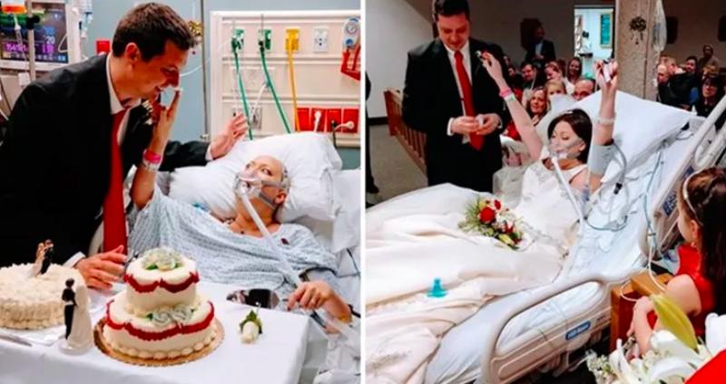 18 часов в браке: девушка, больная раком, умерла после свадьбы