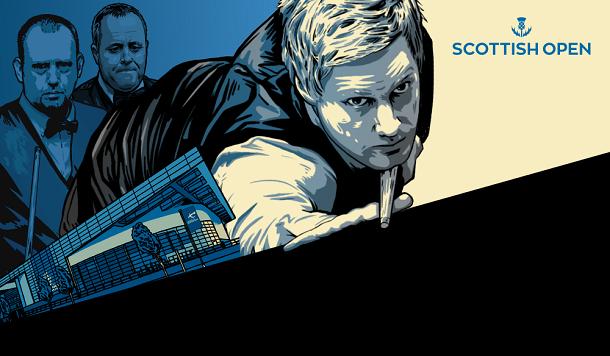 Онлайн трансляции Scottish Open 2019