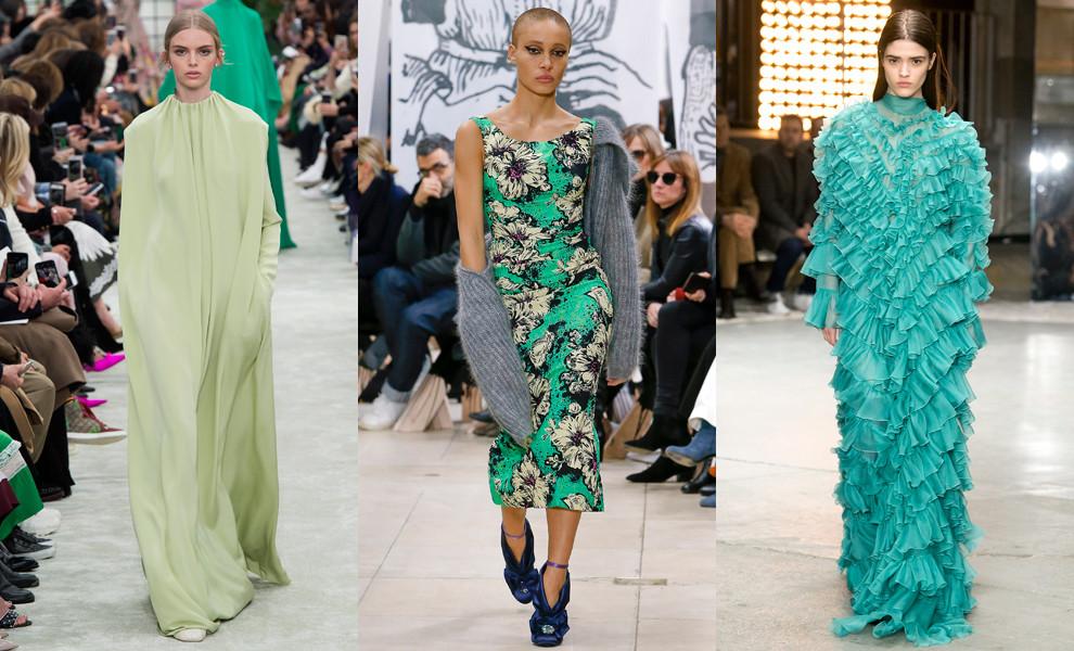 Самые модные платья из новых колекций сезона осень-зима 2018